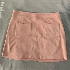 Kendall & Kylie Suede Mini Skirt